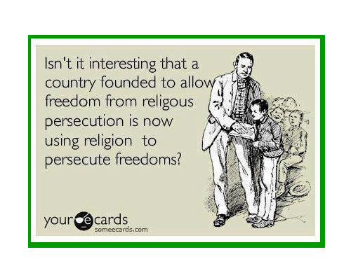 Persecuting-with-religion